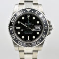 ROLEX GMT-MASTER II CERAMIC BEZEL STAINLESS STEEL116710 BOX & PAPER
