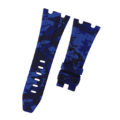 Navy Blue Camouflage Rubber Audemars Piguet 42mm Diver Strap
