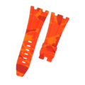 Orange Camouflage Rubber Audemars Piguet 42mm Diver Strap