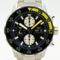 IWC AQUATIMER REF IW376701 CHRONOGRAPH STAINLESS STEEL WITH BOX & PAPERS