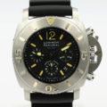 PANERAI PAM 187 LUMINOR CHRONOGRAPH 1000 SUBMERSIBLE WITH BOX & PAPERS