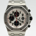 AUDEMARS PIGUET ROYAL OAK OFFSHORE PANDA REF 26170ST.OO.1000ST.01 WITH BP