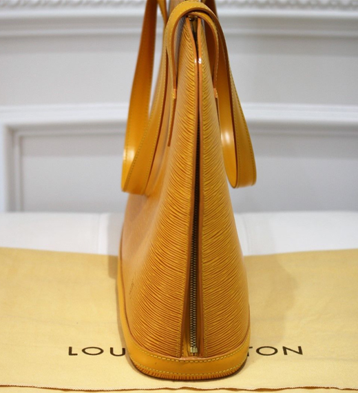 5fd266e62ffe Item  21 Authentic Louis Vuitton Yellow Epi Lussac Tote Bag – WATCH EXPO