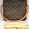 Authentic Louis Vuitton Looping Monogram shoulder Bag Retail