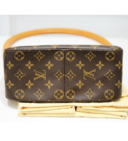 2343f016c3e7 Authentic Louis Vuitton Looping Monogram shoulder Bag Retail – WATCH ...