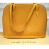 Item# 21 Authentic Louis Vuitton Yellow Epi Lussac Tote Bag