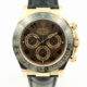ROLEX DAYTONA REF 116515 CHOCOLATE DIAL 18K ROSE GOLD WITH BOX AND CARD