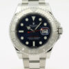 ROLEX YACHT-MASTER 116622 PLATINUM BEZEL BLUE DIAL STAINLESS STEEL WATCH WITH BP