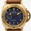 PANERAI PAM 671 BRONZO LUMINOR SUBMERSIBLE 1950 3 DAYS WITH BOX AND PAPERS