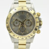 ROLEX DAYTONA REF 16523 40MM TWO TONE OYSTER MEN'S WATCH WITH BOX