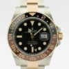 ROLEX GMT-MASTER II REF 126711CHNR BLACK DIAL ROOTBEER TWO TONE MEN'S WATCH