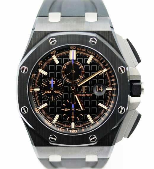 Audemars piguet royal oak offshore ceramic ref 26405ce oo watch expo for Royal oak offshore ceramic