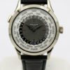 PATEK PHILIPPE REF 5230 G / 5230G-001 WORLD TIME 18K WHITE GOLD W/ BOX&PAPER