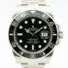 ROLEX SUBMARINER REF 116610LN BLACK DIAL STAINLESS STEEL WATCH WITH BP MAY 2019