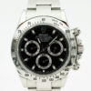 ROLEX DAYTONA 116520 BLACK DIAL STAINLESS STEEL WATCH WITH BP