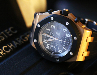 Audemars Piguet at watch expo