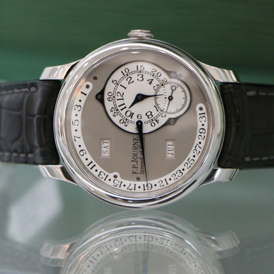 showing a FP Journe Octa Calendrier