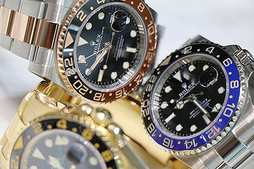 rolex sport gmt in different models