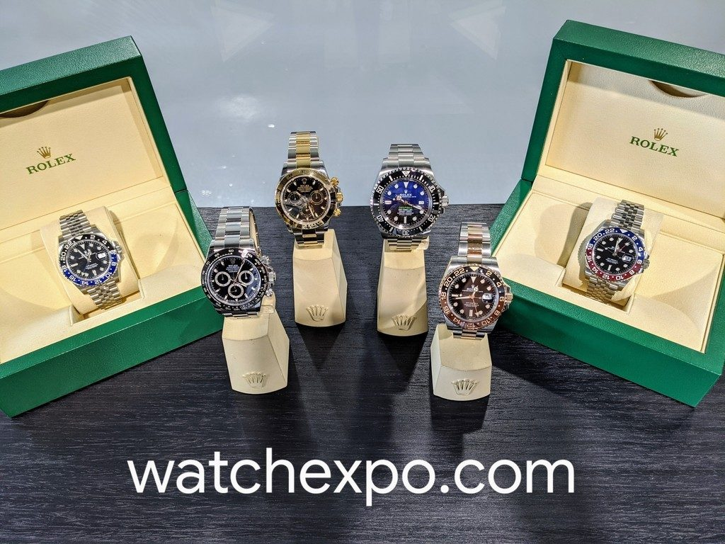 rolex watches at Watch Expo