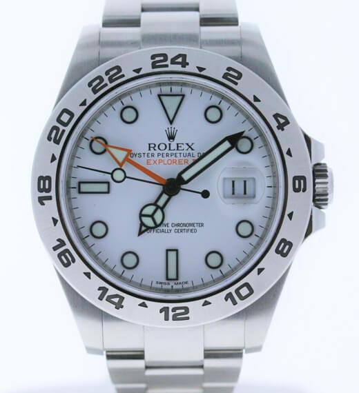 explorer-II-white dial