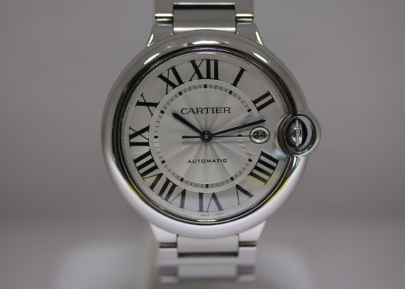 Cartier Ballon Bleu 42mm steel watch