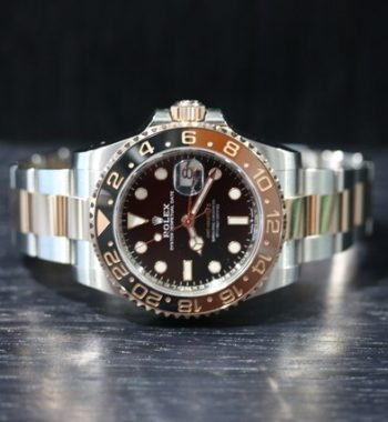 Rolex gmt master Rootbeer two tone