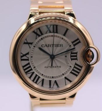 Cartier Balon Bleu Rose gold 36mm Watch