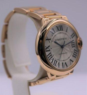 Cartier Rose gold watch