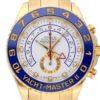 ROLEX YACHT-MASTER II 18k YELLOW GOLD WATCH REF 116688