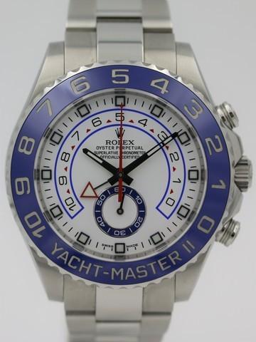 Rolex Yacht Master II steel